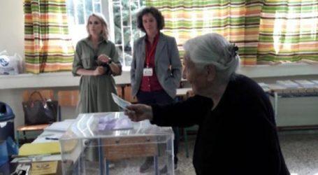 Ψηφοφόρος ετών 103 στα Ιωάννινα