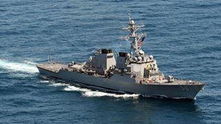 Ο Τραμπ ζήτησε να μείνει «εκτός του οπτικού του πεδίου» το USS John McCain