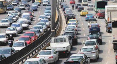 Κυκλοφοριακά προβλήματα στον Κηφισό λόγω έργων και τροχαίου ατυχήματος