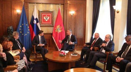 Θετικά μηνύματα από την επίσκεψη του Σλοβένου προέδρου στο Μαυροβούνιο