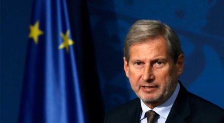 Περισσότερη αποφασιστικότητα από τη Σερβία αναμένει ο Επίτροπος Διεύρυνσης της ΕΕ