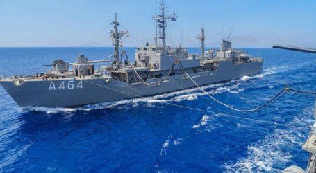 Ολοκληρώθηκε άσκηση του Πολεμικού Ναυτικού στον Σαρωνικό