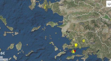 Σεισμός 4,1 Ρίχτερ στην Αλικαρνασσό