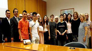 Μαθητές που διακρίθηκαν στο εθνικό διαγωνισμό γνώσεων για το χρήμα τίμησε η ΕΕΤ