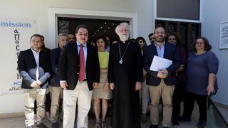 Επίσκεψη του Προέδρου της Christian Aid στην «Αποστολή»