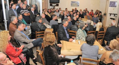 Νασιακόπουλος στο Μεγάλο Μοναστήρι: «Το έργο μας στο Δήμο Κιλελέρ αναγνωρίζεται πλέον από το σύνολο των συνδημοτών μας»