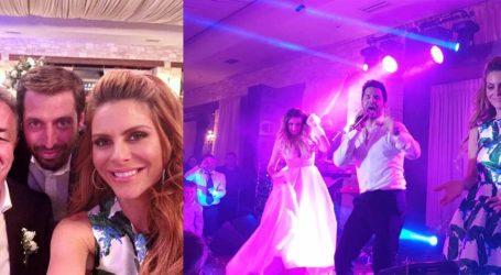 Κουμπάρα σε γάμο στην Κρήτη η Μαρία Μενούνος- Οι επώνυμοι καλεσμένοι και το γαμήλιο πάρτι