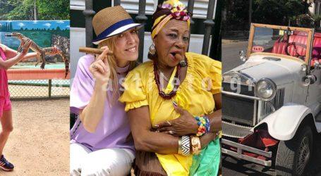 Αποκλειστικές φωτογραφίες από το ταξίδι της Νάντιας Χαλαμανδάρη στη μαγευτική Κούβα!