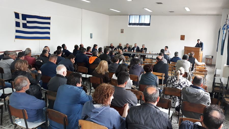 Καθολική σχεδόν η συμμετοχή στην ετήσια Γενική Συνέλευση του Συλλόγου Υπαλλήλων ΥΕΘΑ/ΓΕΣ ν. Λάρισας