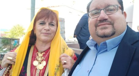Στη γιορτή του Τρικερίου ο Άκης Στάμος