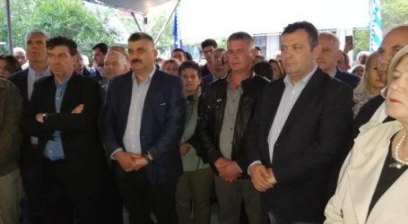 Εγκαινιάστηκε το εκλογικό κέντρο του Μιχάλη Μιτζικού στην Αργαλαστή [εικόνες]