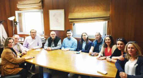 Υποψήφιοι σύμβουλοι του Ν. Τσιλιμίγκα επισκέφθηκαν στο Νοσοκομείο Βόλου