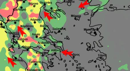 Νεότερα στοιχεία για την επικείμενη αλλαγή του καιρού – Πως επηρεάζεται η Μαγνησία [χάρτες]