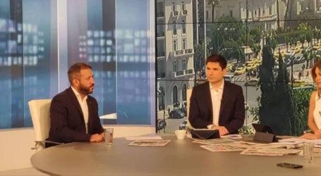 Ο Αλέξανδρος Μεϊκόπουλος στην εκπομπή της ΕΡΤ «Απευθείας» για την πολιτική επικαιρότητα