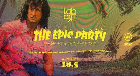 Τελευταίο Epicο party της σεζόν για το Lab art