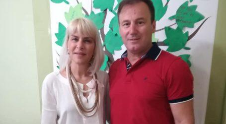 Τη μονάδα Αλτσχάιμερ επισκέφθηκε ο Τριαντ. Γκογκινούδης