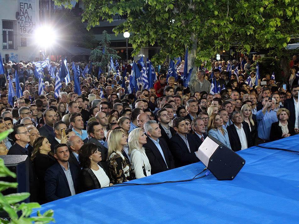 Στέλλα Μπίζιου: Η Λάρισα έστειλε χθες βράδυ ηχηρό μήνυμα πολιτικής αλλαγής