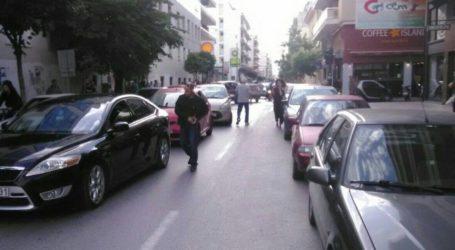 Καραμπόλα τεσσάρων αυτοκινήτων στο κέντρο του Βόλου [εικόνες]