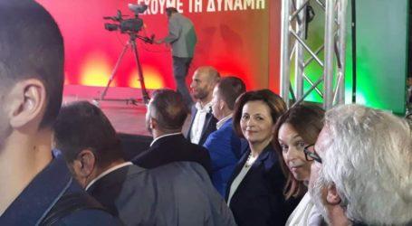Οι Βολιώτες που ήταν πρώτη θέση στην ομιλία Τσίπρα στη Λάρισα [εικόνες]