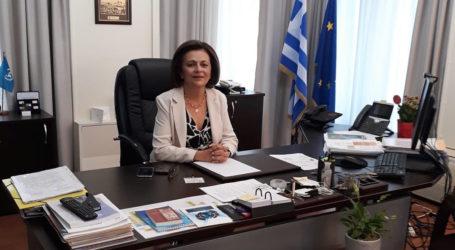 Στο γραφείο της στην Αθήνα για τις εκλογές η Υφυπουργός Εσωτερικών Μ. Χρυσοβελώνη