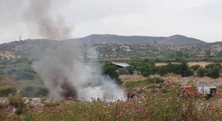 ΤΩΡΑ: Φωτιά έξω από τον Βόλο [εικόνες]