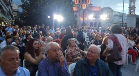 Προσκλητήριο Αποστολάκη σε όλες τις υγιείς δυνάμεις του τόπου από την κεντρική συγκέντρωση στον Βόλο