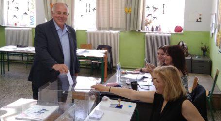 Ψήφισε ο Δημήτρης Νασίκας [εικόνα]