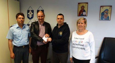 Πράξεις ανθρωπιάς από την Διεθνή Ένωση Αστυνομικών στη Λάρισα