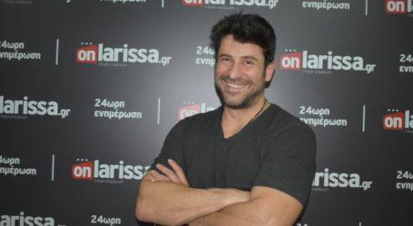 Ο Αλέξης Γεωργούλης για ΟΛΑ στο onlarissa.gr: Η Ευρωβουλή, η νέα πρόταση από το εξωτερικό, το «καλάμι» και ο γάμος…