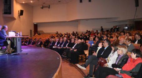 Συγκίνηση στο πολιτικό μνημόσυνο για τον Ράλλη Τσιουλάκη στη Λάρισα (φωτο)