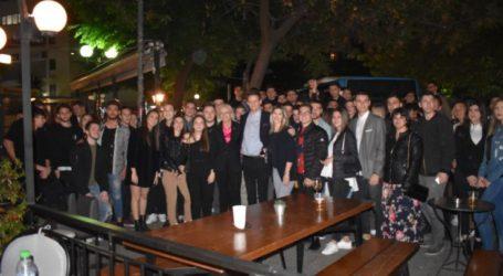 Πλήθος κόσμου στη φιλική βραδιά του Φώτη Τζατζάκη με μαθητές και φίλους – Δείτε φωτορεπορτάζ