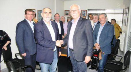 Στο Δικαστικό Μέγαρο και με την Ισραηλιτική Κοινότητα ο Καλογιάννης