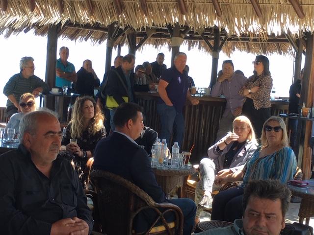 Κώστας Κολλάτος: «Πυλώνας ανάπτυξης τουρισμού τα παράλια του Δήμου Τεμπών»