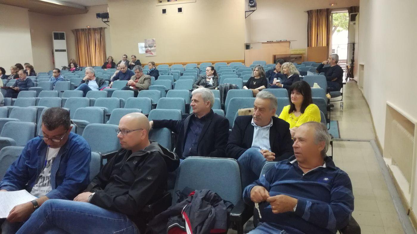 Γενική συνέλευση ενόψει των εκλογών για το συνέδριο της ΟΛΜΕ πραγματοποίησε η ΕΛΜΕ Λάρισας (φωτο)