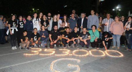 353.000 θύματα, 100 χρόνια μετά – Η ποντιακή νεολαία της Λάρισας τίμησε τους νεκρούς της Γενοκτονίας (φωτο)