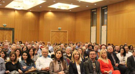 Ανέλυσε πρόγραμμα και στόχους ο Δ. Κουρέτας στην ομιλία του στη Λάρισα (φωτο)