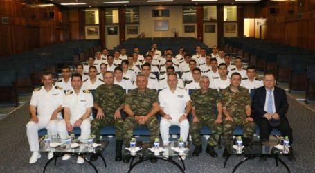 Ναυτικοί Δόκιμοι επισκέφθηκαν σήμερα στην 1η Στρατιά