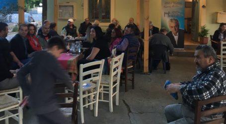 Κολλάτος από Κυψελοχώρι:Το όραμά μας είναι κοινό γιατί ζούμε ανάμεσά σας ως ενεργοί πολίτες (φωτό)