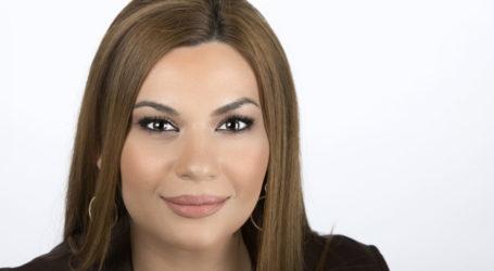 Στέλλα Μπίζιου: Στις 26 Μαΐου στέλνουμε μήνυμα πολιτικής αλλαγής σε Ελλάδα και Ευρώπη