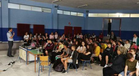 Δράσεις θεματικής εβδομάδας και έργα ζωγραφικής στο 9ο Γυμνάσιο Λάρισας