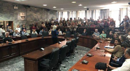 Καραλαριώτου: Σύμμαχοι στο έργο μας οι εργαζόμενοι στο Δήμο Λαρισαίων