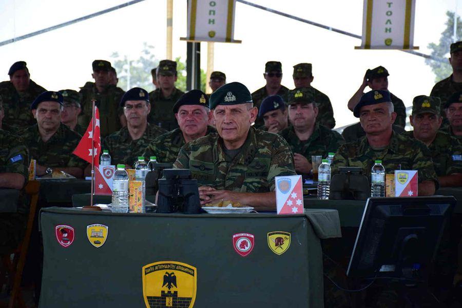 Επισκέψεις του Διοικητή της 1ης Στρατιάς