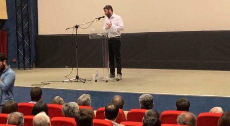 Νίκος Ανδρουλάκης από τον Βόλο: Το ΚΙΝΑΛ θα αποτελέσει την ευχάριστη έκπληξη των εκλογών