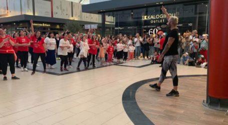 Δεκάδες Λαρισαίοι χόρεψαν για τον μικρό Δημήτρηστο FashionCityOutlet