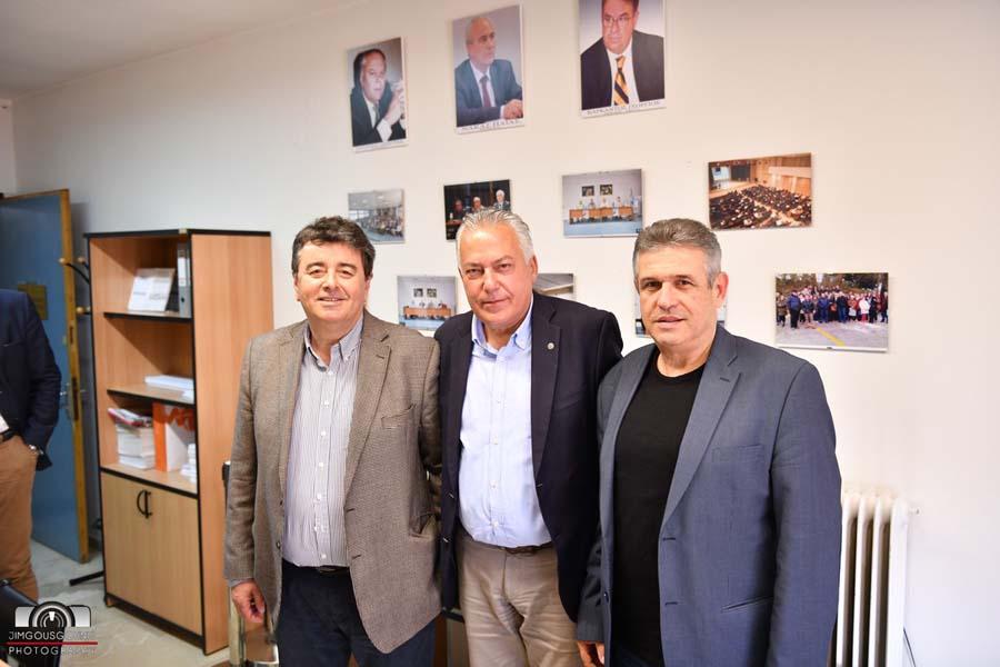 Επίσκεψη προέδρου και αντιπροέδρου του Οικονομικού Επιμελητηρίου στην Ε.Φ.Ε.Ε.Λ