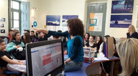 Εκπαιδευτική εκδρομή 5ου Γυμνασίου Λάρισας στην Πάρο και την Νάξο