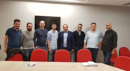Επίσκεψη υπ. δημάρχου Λαρισαίων Ν. Γαμβρούλα στο ΤΕΕ