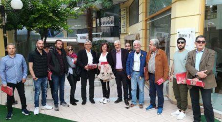 Από τα Φάρσαλα ξεκίνησαν περιοδείες στελέχη του ΣΥΡΙΖΑ στο νομό Λάρισας