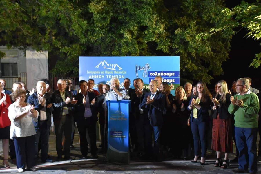 Κ. Κολλάτος: Η πλατεία του Πυργετού απόψε έβγαλε τον αυριανό Δήμαρχο