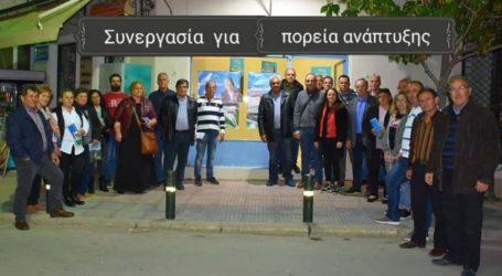 Συνάντηση Κολλάτου με τους υποψηφίους του Συνδυασμού «Συνεργασία Για Πορεία Ανάπτυξης»